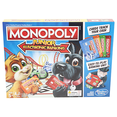 Image of Hasbro Gaming Monopoly - Junior Electronic Banking