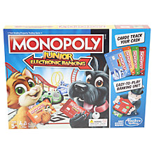 Buy Monopoly Junior Electronic Banking Board Game Online at johnlewis.com