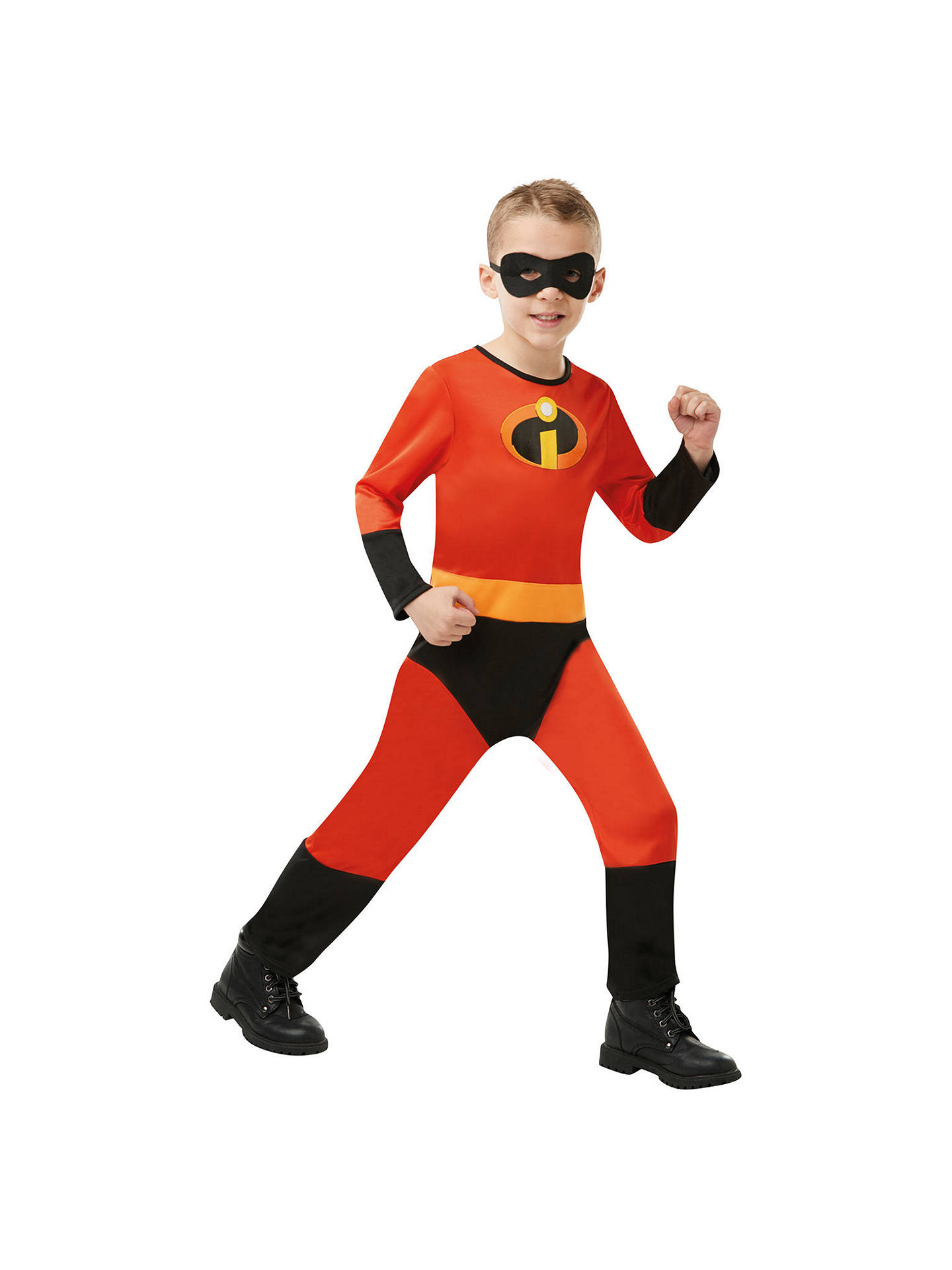 Buy The Incredibles Jumpsuit Children's Costume, 3-4 years Online at johnlewis.com