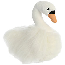 Buy Aurora World Luxe Boutique Fiona Swan Soft Toy Online at johnlewis.com