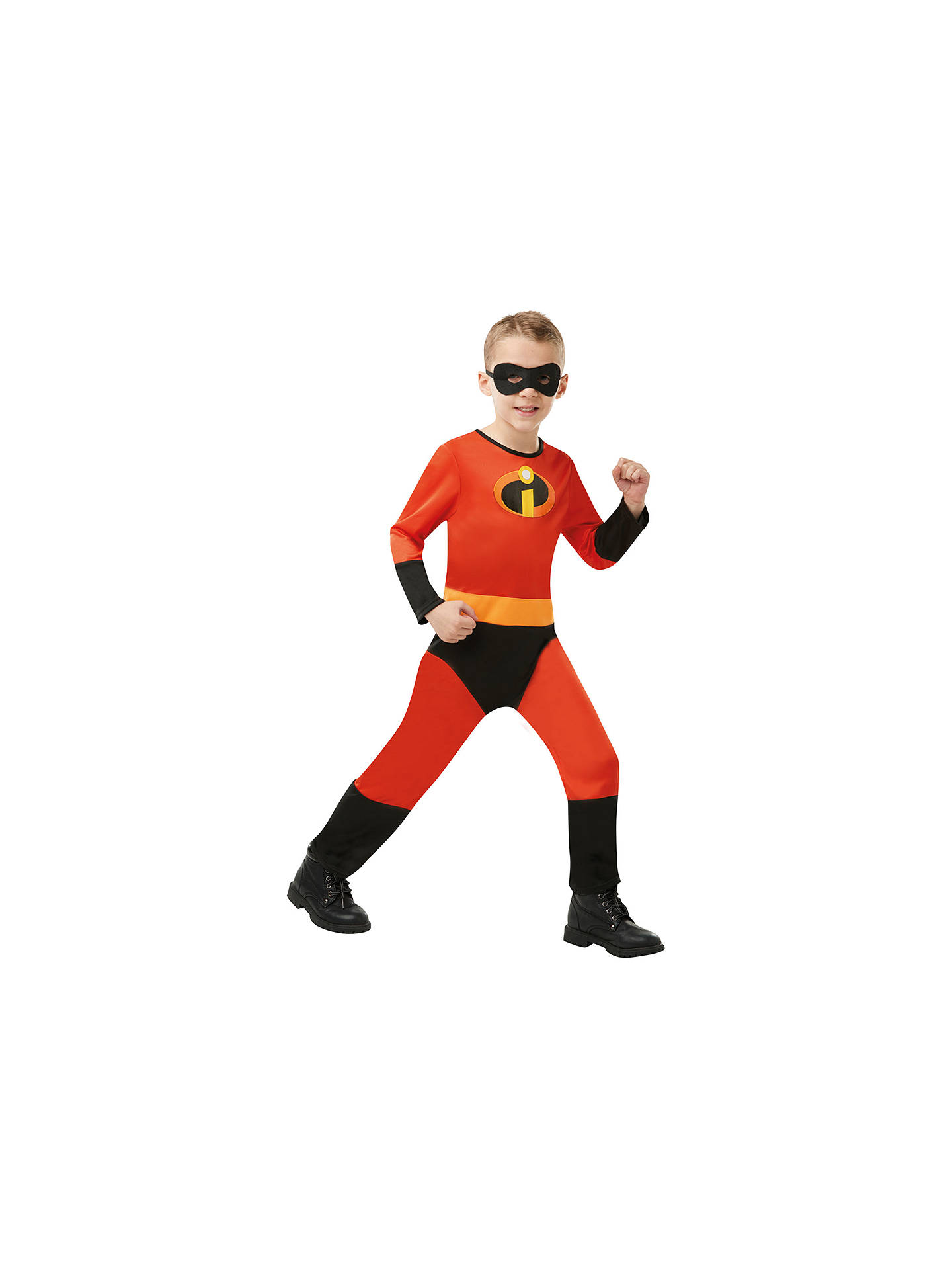 Buy The Incredibles Jumpsuit Children's Costume, 5-6 years Online at johnlewis.com