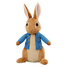 Buy Peter Rabbit 42cm Peter Rabbit Soft Toy Online at johnlewis.com