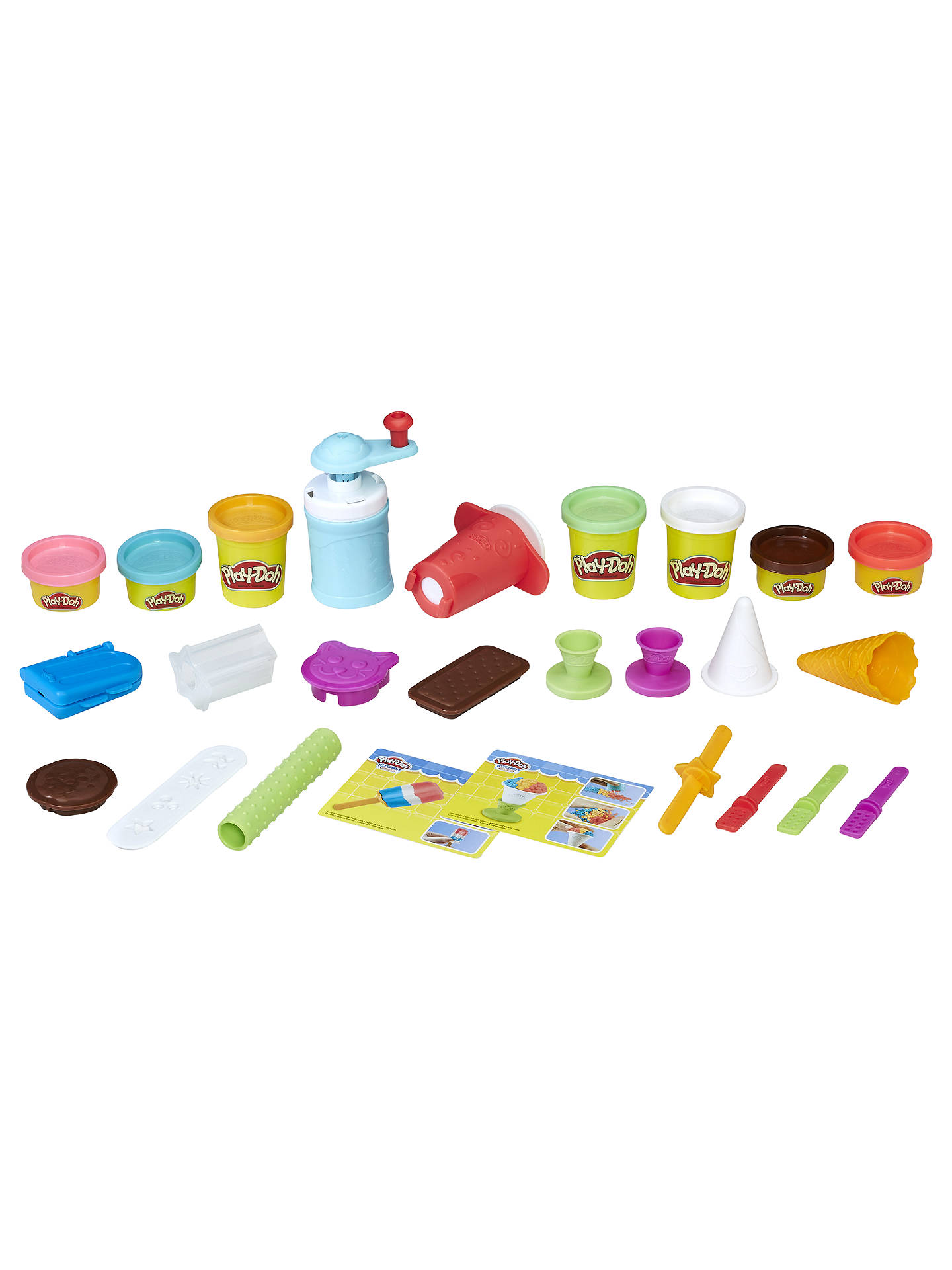Play Doh Kitchen Creations Frozen Treats Set At John Lewis Partners