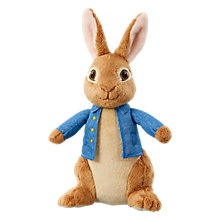 Buy Peter Rabbit 17cm Peter Rabbit Soft Toy Online at johnlewis.com