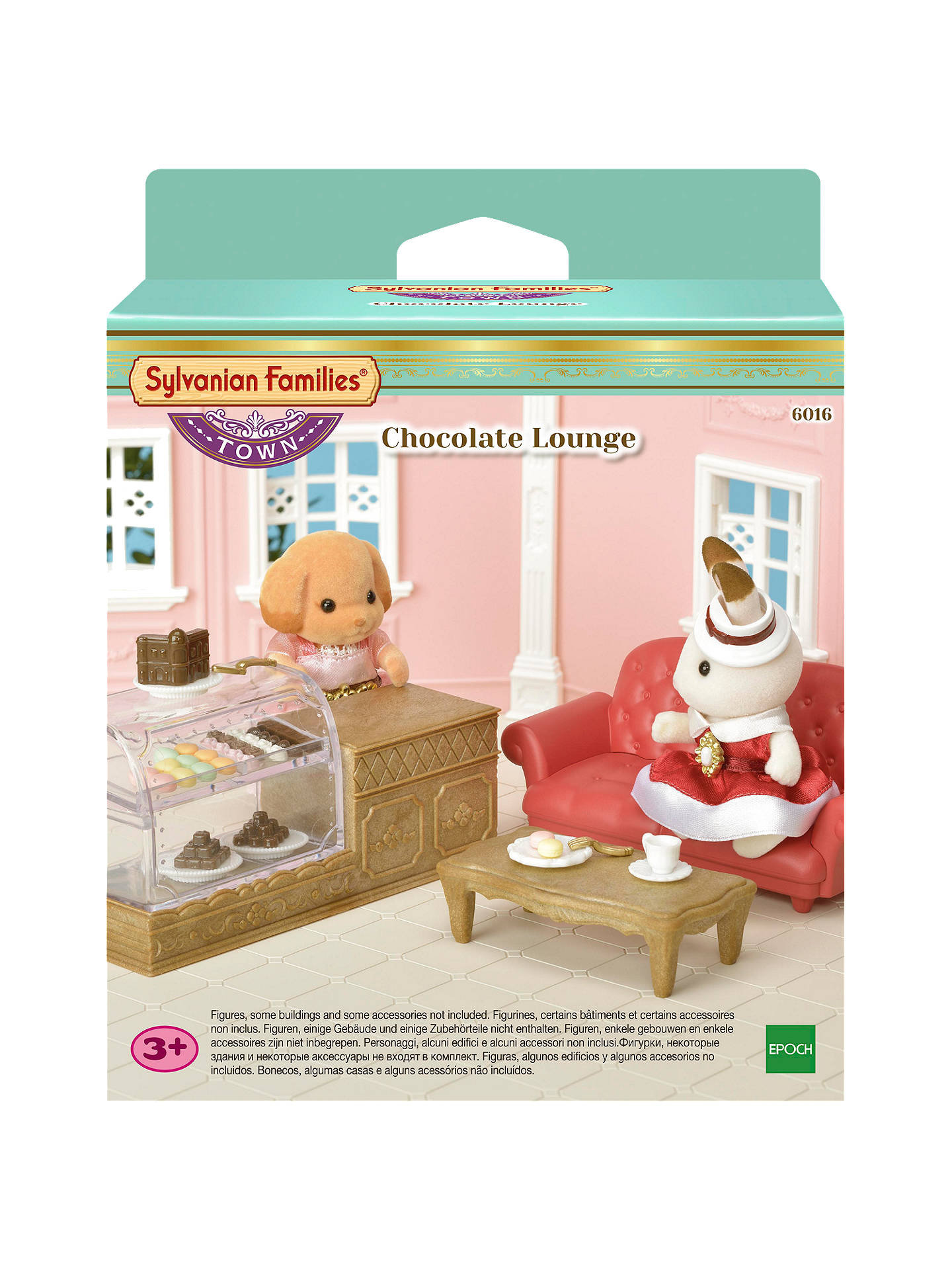 Buysylvanian families chocolate lounge set online at johnlewis com