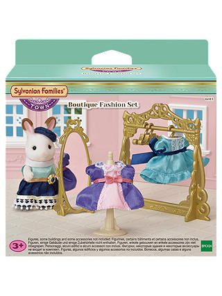 Buy Sylvanian Families Town Series Boutique Fashion Set Online at johnlewis.com