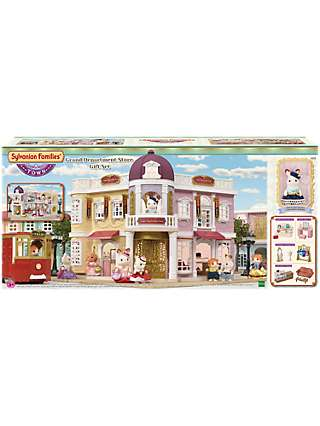 Sylvanian Families Town Series Grand Department Store Gift Set