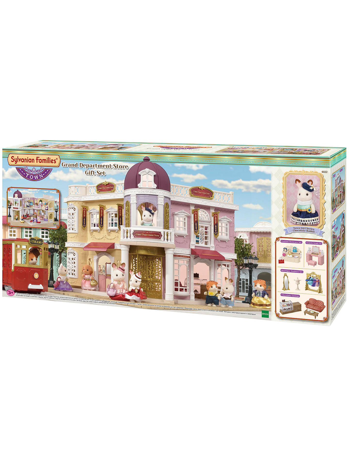 Buy Sylvanian Families Town Series Grand Department Store Gift Set Online at johnlewis.com