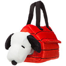 Buy Peanuts Snoopy Kennel Fancy Pal Soft Toy Online at johnlewis.com