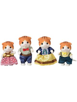 Sylvanian Families Town Series Maple Cat Family Set