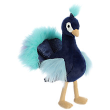 Buy Aurora World Luxe Boutique Mora Peacock Soft Toy Online at johnlewis.com