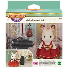 Buy Sylvanian Families Town Series The Violin Concert Set Online at johnlewis.com