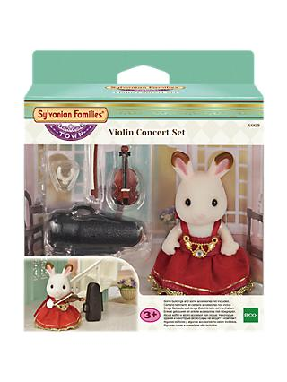 Sylvanian Families Town Series The Violin Concert Set