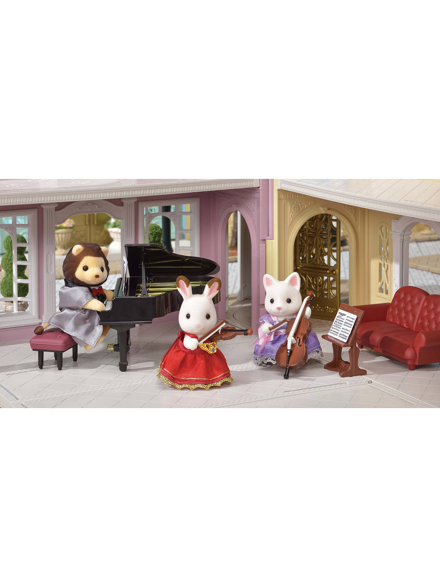 BuySylvanian Families Town Series The Violin Concert Set Online at johnlewis.com