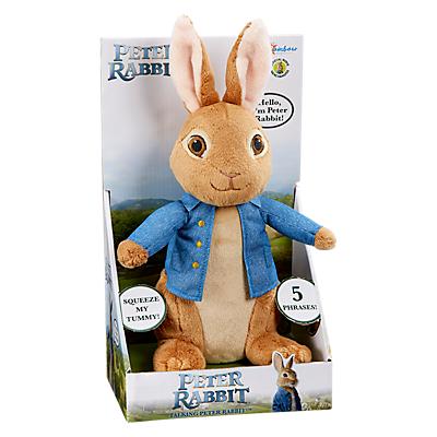 Image of Peter Rabbit Talking Peter Rabbit Soft Toy