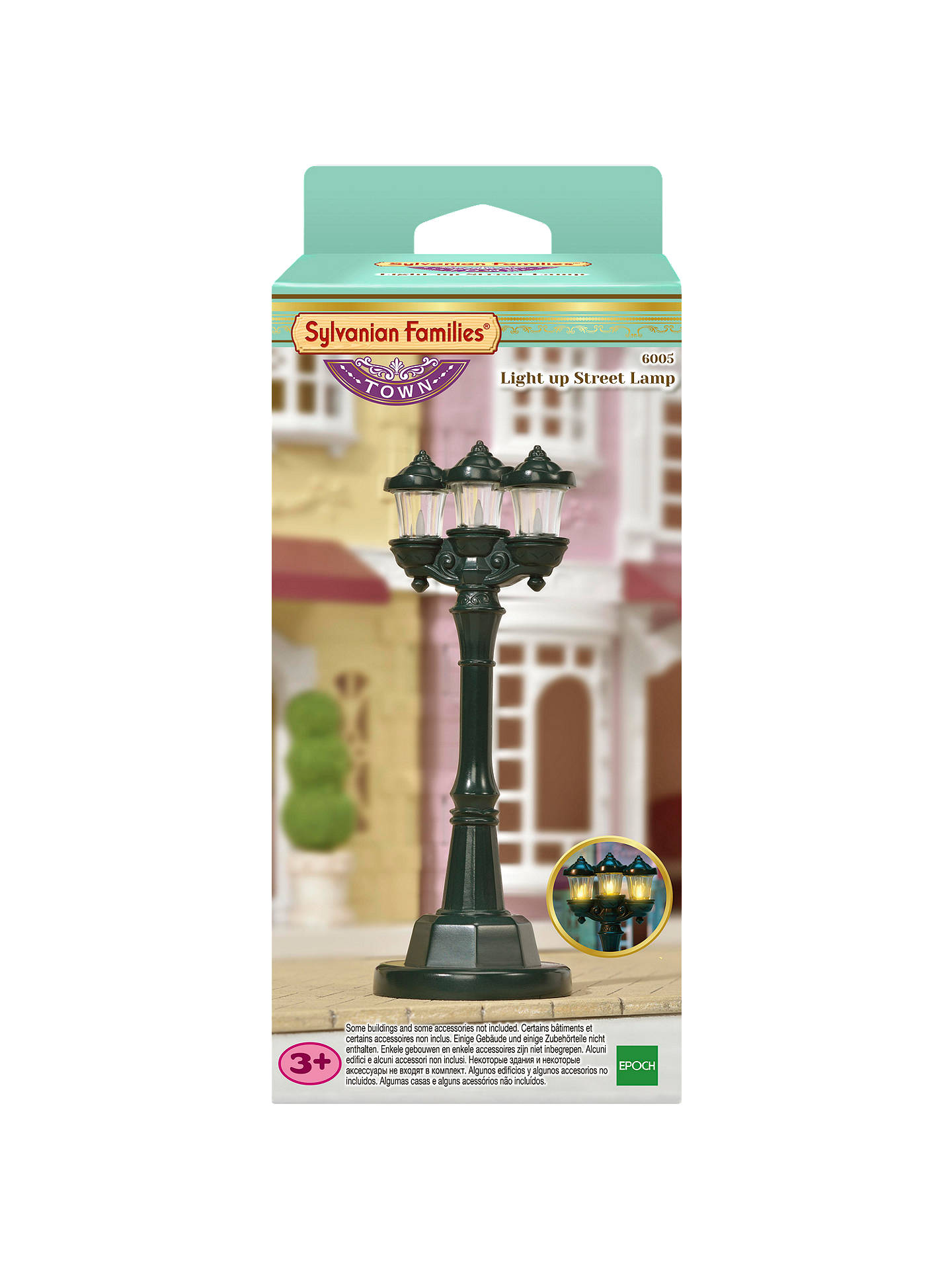 Buy Sylvanian Families Town Series Light Up Street Lamp Online at johnlewis.com