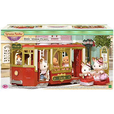 Sylvanian Families Town Series Ride Along Tram Set