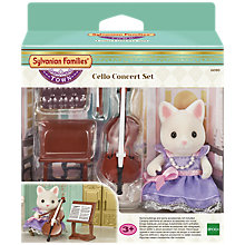 Buy Sylvanian Families Town Series Cello Concert Set Online at johnlewis.com