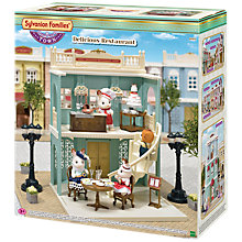 Buy Sylvanian Families Town Series Delicious Restaurant Set Online at johnlewis.com