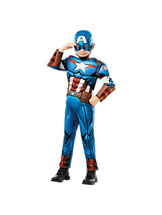 Captain America Deluxe Children's Costume