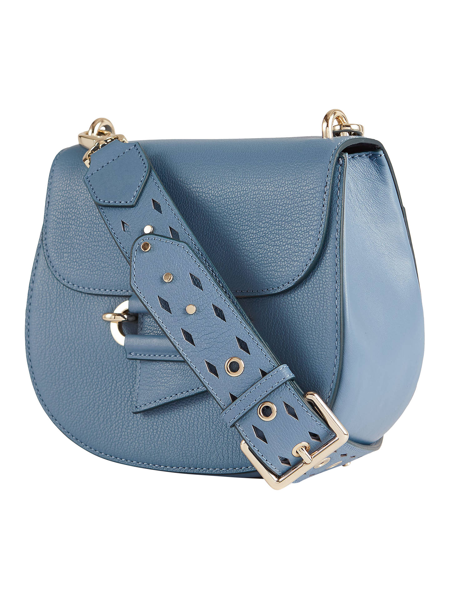 f4e230b393e0 Reiss Maltby Leather Crossbody Bag at John Lewis   Partners