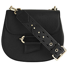 Buy Reiss Maltby Leather Crossbody Bag Online at johnlewis.com