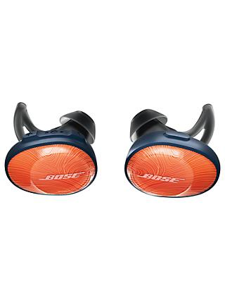 Bose® SoundSport™ Free True Wireless Sweat & Weather-Resistant Bluetooth In-Ear Headphones with Mic/Remote