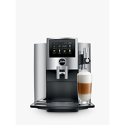 Jura S8 Bean-to-Cup Coffee Machine, Chrome