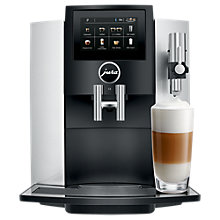Buy Jura S8 Bean-to-Cup Coffee Machine, Silver Online at johnlewis.com