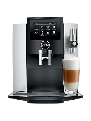 Jura S8 Bean-to-Cup Coffee Machine, Silver