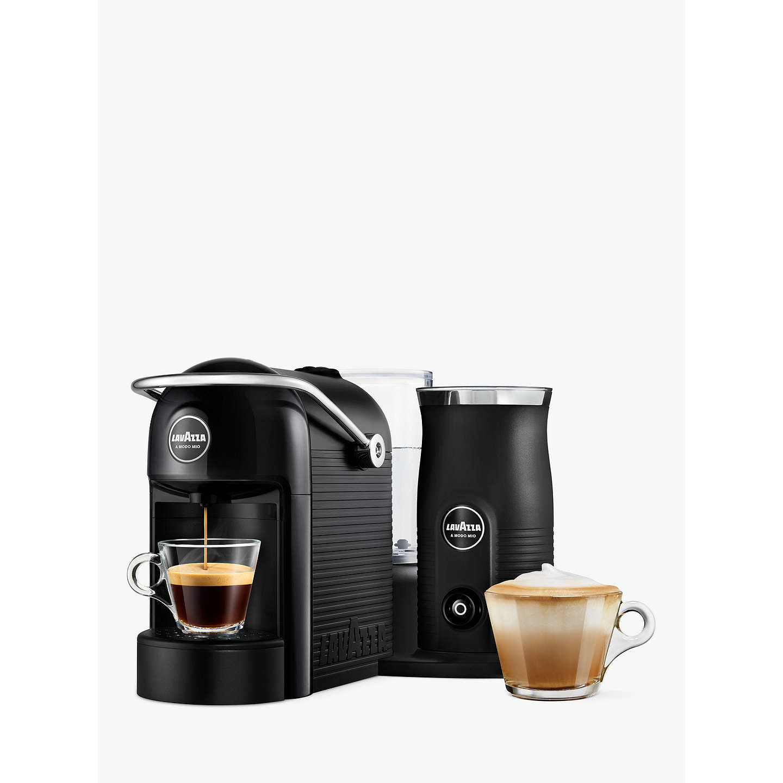 Lavazza A Modo Mio Jolie Plus Coffee Machine With Milk Frother Black Online At Johnlewis