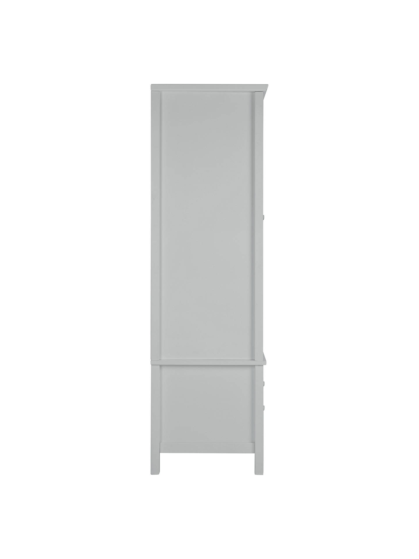 Buy John Lewis & Partners Wilton 1 Door Wardrobe, Grey Online at johnlewis.com