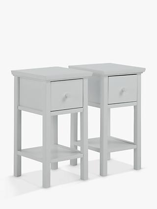 John Lewis Partners Wilton Set Of 2 Bedside Tables