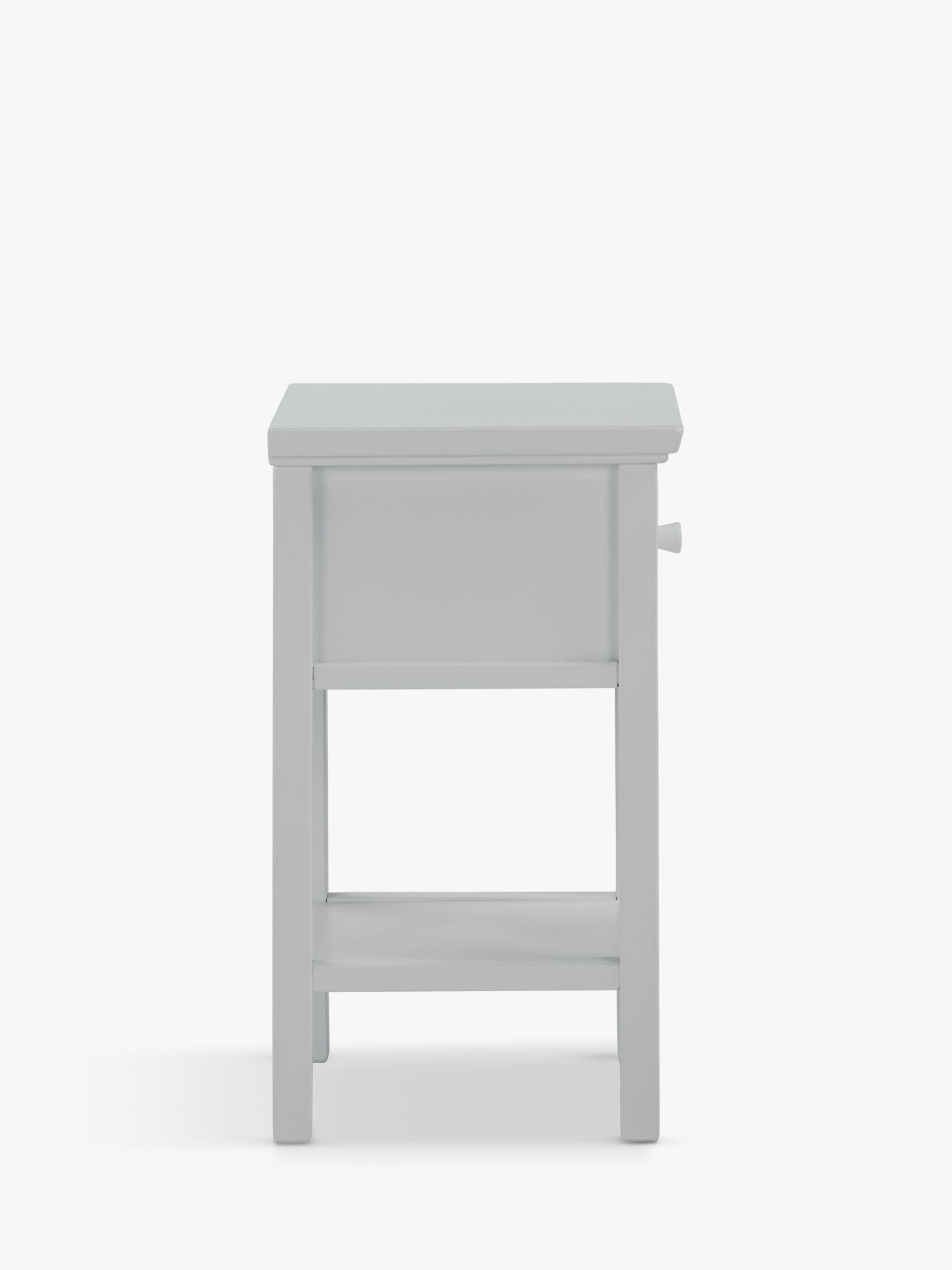 John Lewis Partners Wilton Set Of 2 Bedside Tables Grey