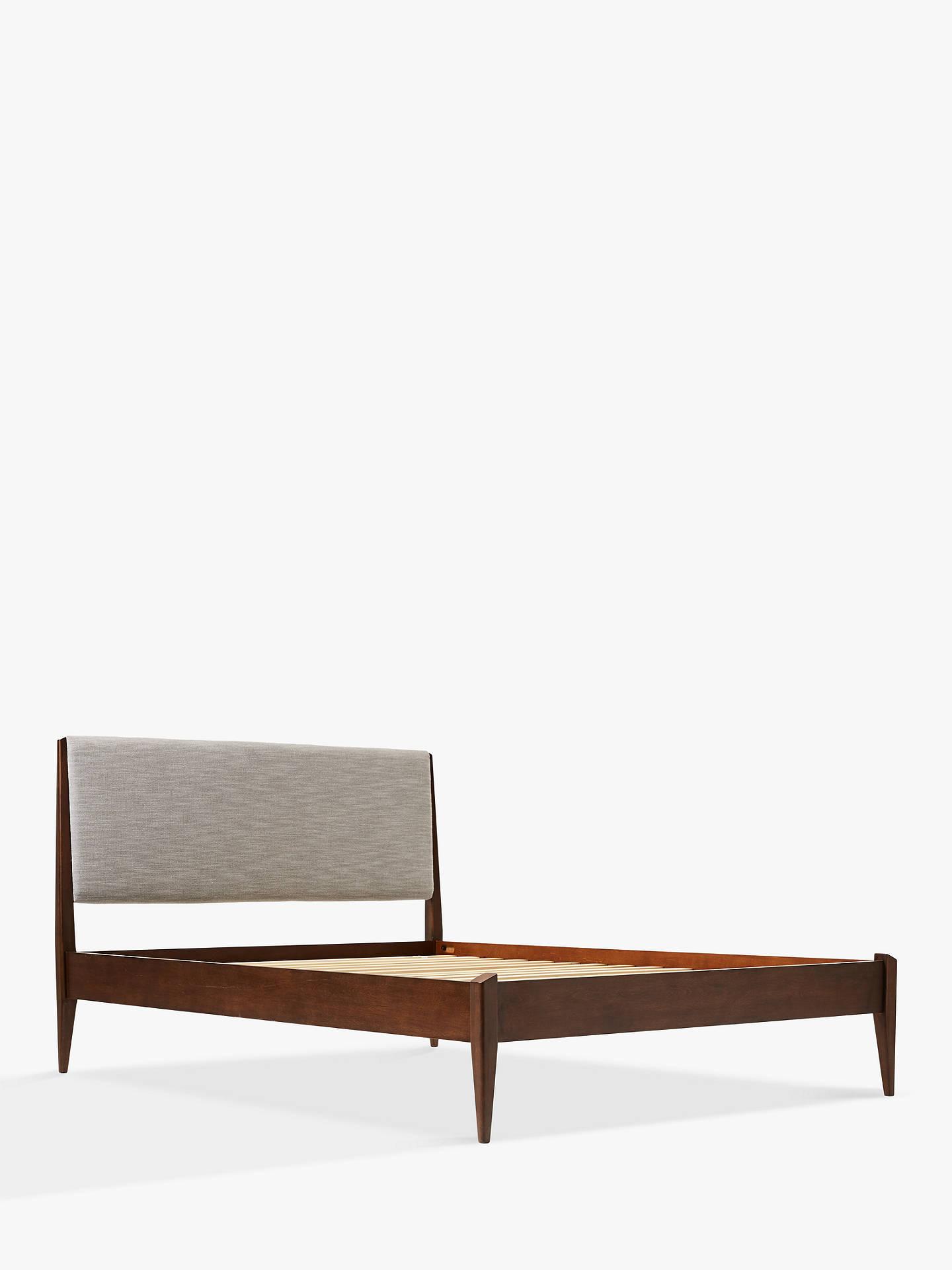 John Lewis & west elm Modern Show Bed King Size Brown