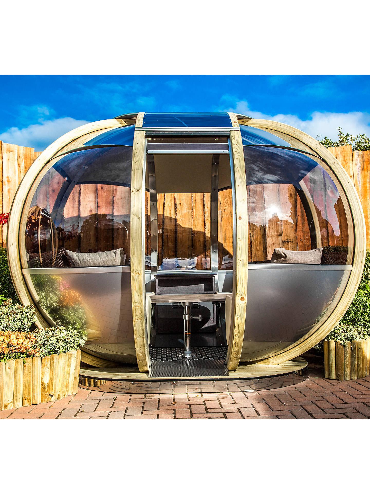 3e9b08100ded Buy Farmer's Cottage Oval Garden Summerhouse Pod Online at johnlewis. ...