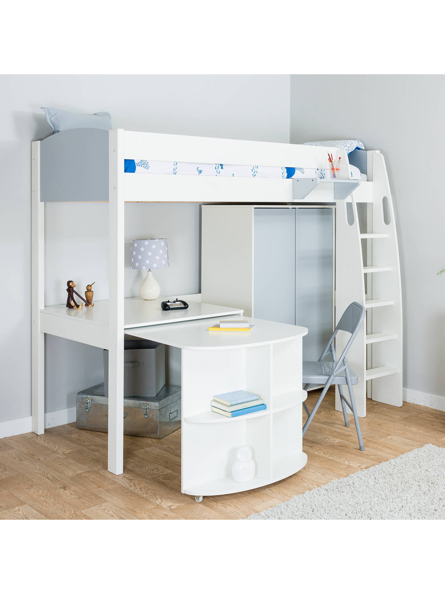 Cheap High Sleeper Beds With Desk And Wardrobe | Desk ...