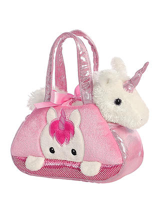 Buy Aurora World Fancy Pals Peek A Boo Unicorn Soft Toy Online at johnlewis.com