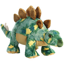 "Buy Aurora World Stegosaurus 17"" Dinosaur Soft Toy Online at johnlewis.com"