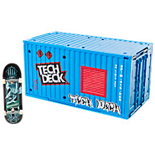 Buy Tech Deck Transforming Sk8 Container Fingerboard Set Online at johnlewis.com