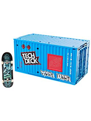 Tech Deck Transforming Sk8 Container Fingerboard Set