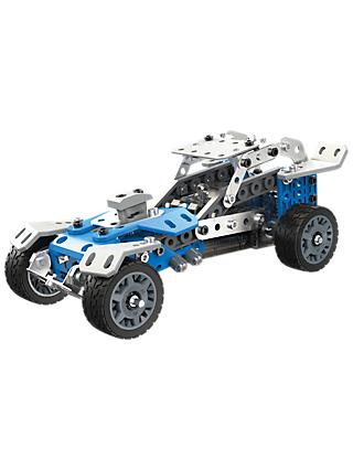 Meccano 10-in-1 Rally Racer Set