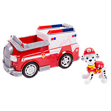 Buy Paw Patrol Rescue Marshall and Ambulance vehicle Online at johnlewis.com