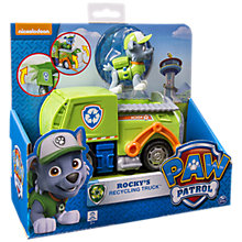 Buy Paw Patrol Rocky's Recycling Truck Online at johnlewis.com