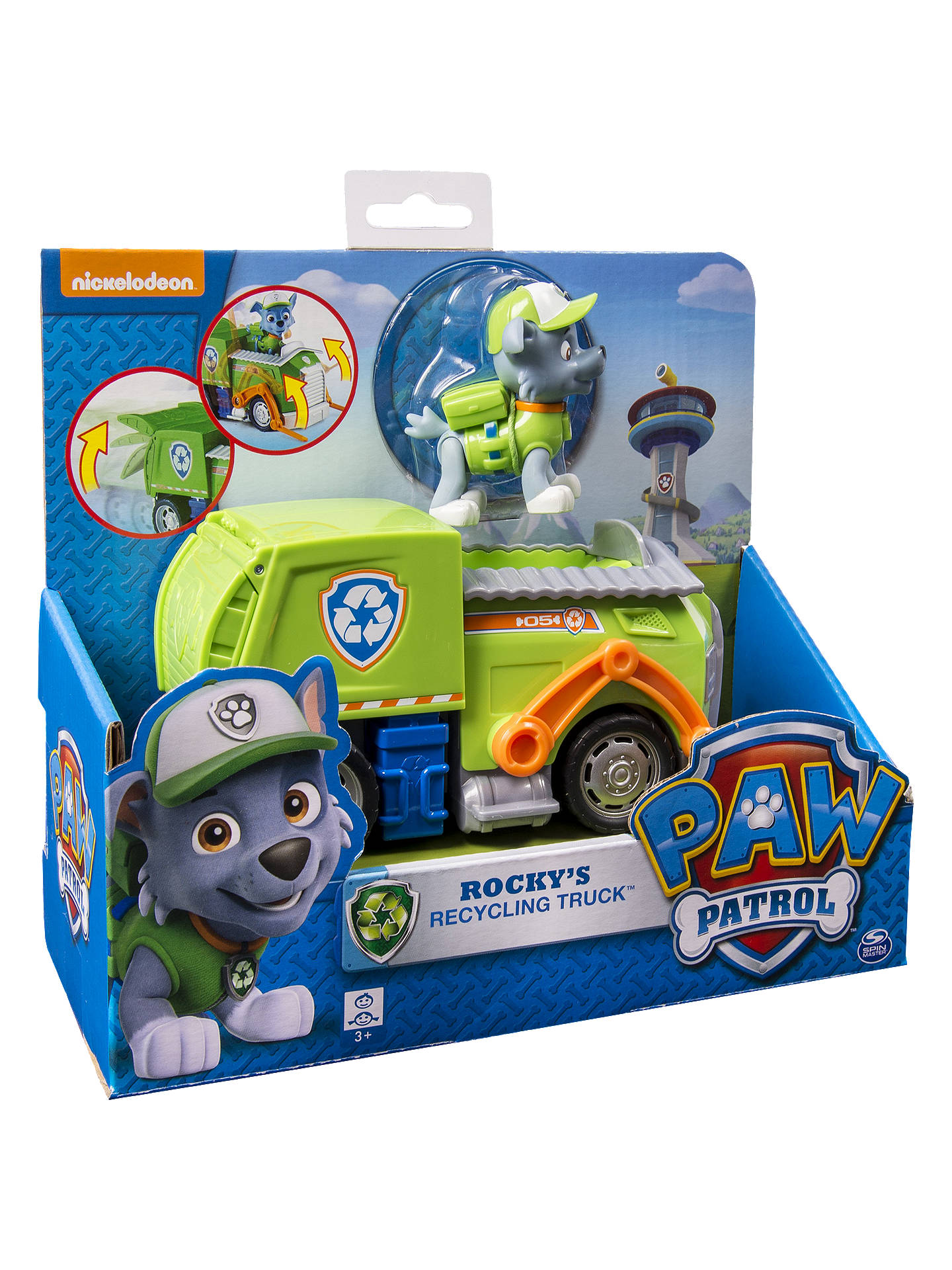 paw patrol rocky s recycling truck at john lewis partners