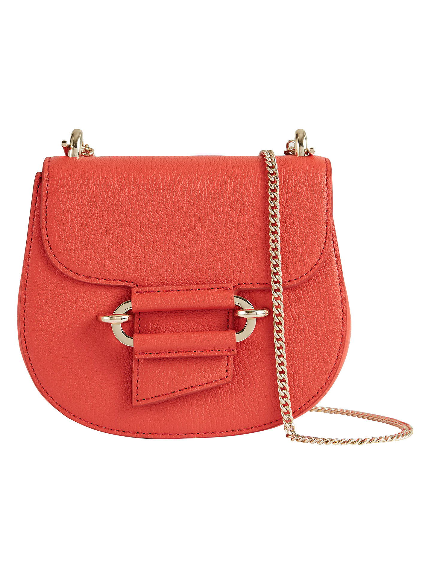 ffcd7b913c74 Reiss Mini Maltby Leather Crossbody Bag at John Lewis   Partners