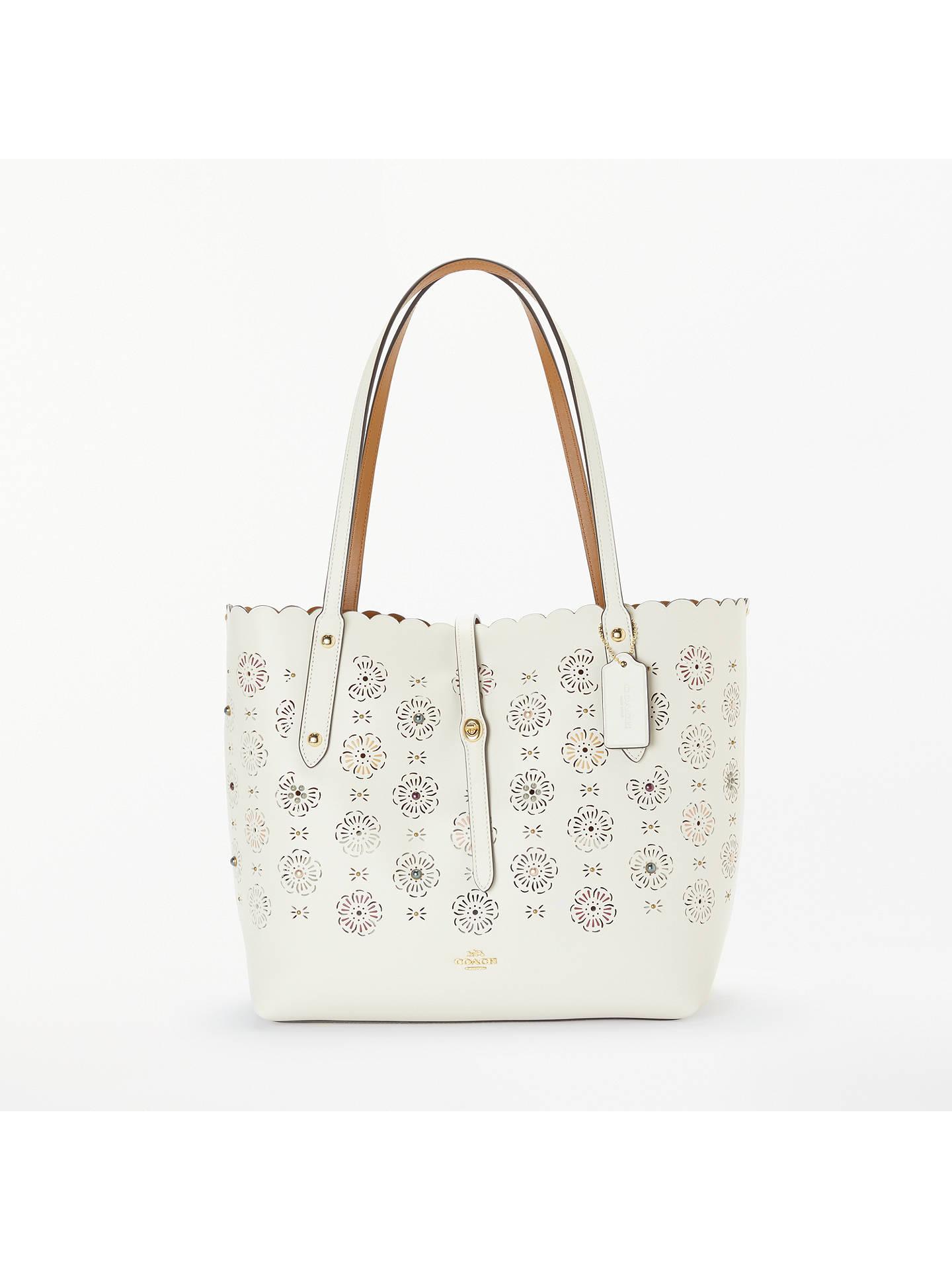 e924880ad2 Buy Coach Market Floral Cut Leather Tote Bag