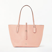 Buy Coach Market Leather Tote Bag, Peony Online at johnlewis.com