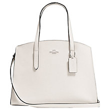 Buy Coach Charlie Leather Carryall Tote Bag Online at johnlewis.com
