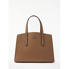 Buy Coach Charlie Leather Carryall Tote Bag, Tabacco Online at johnlewis.com